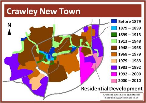 Evolution of Residential Highway Design in SouthEast England