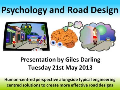 Psychology and Road Design Presentation