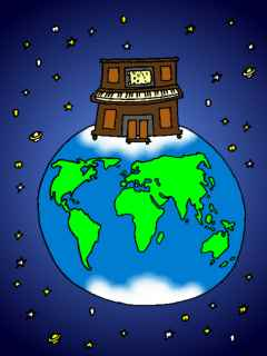 A Pianola On Top of the World